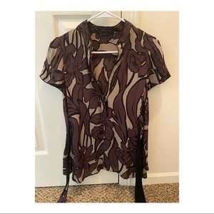BCBG Max Azeria shirt size small